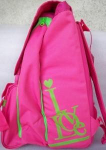 hello spank  rosa verde  lato