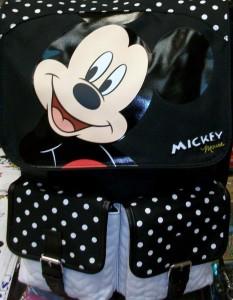 zaino mickey mouse imbottito