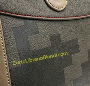 fiat 500 small bag particolare tessuto