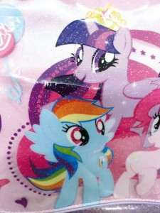 my little pony ROSA PARTICOLARE PONY