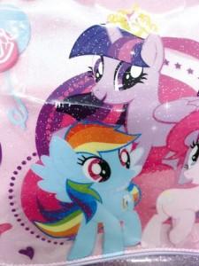 my little pony ROSA PARTICOLARE PONY