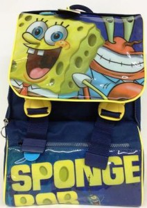 zaino primino spongebob davanti