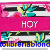 HOY Hippie Mini Wallet Flowers