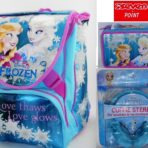 Frozen Zaino Sdoppiabile Astuccio Tre Zip Cuffie si illumina al buio