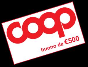 Coupon Buono Spesa da 500 Euro Coop