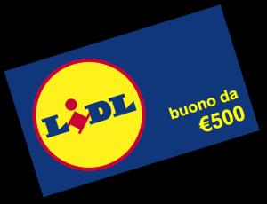 Coupon Buono Spesa da 500 Euro Lidl