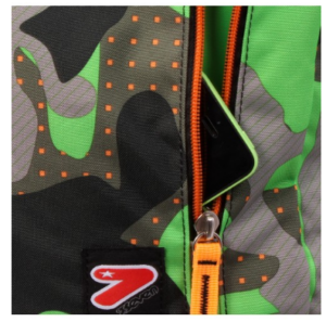 ZAINO THE DOUBLE - COLOR CAMOUFLAGE 9