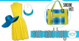 Outfit del giorno: vestitino giallo e Sunshine Haiti per non passare inosservate