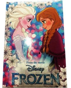 Diario FROZEN Seven Disney Elsa e Anna Principesse