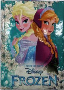 Diario Frozen Seven Disney Elsa e Anna