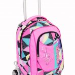Trolley Seven New Jack Fancy Girl- Rosa Nero – Sganciabile e Lavabile