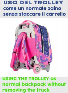 trolley _seven_new_jack_girl_sunflower_retro_intero