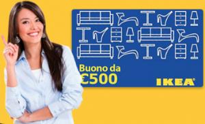 Buono Sconto Ikea da 500 Euro
