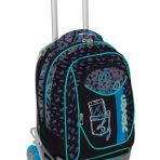 Trolley Seven New Jack – Shift – Nero Azzurro – Sganciabile e Lavabile