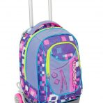 Trolley Seven New Jack Bundle Girl- Viola Rosa – Sganciabile e Lavabile