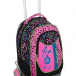 Trolley Seven New Jack Shift Girl- Nero Rosa – Sganciabile e Lavabile