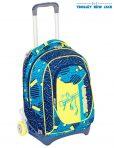 Trolley Seven New Jack – Swag Boy – Blu Giallo – Sganciabile e Lavabile (USATO)